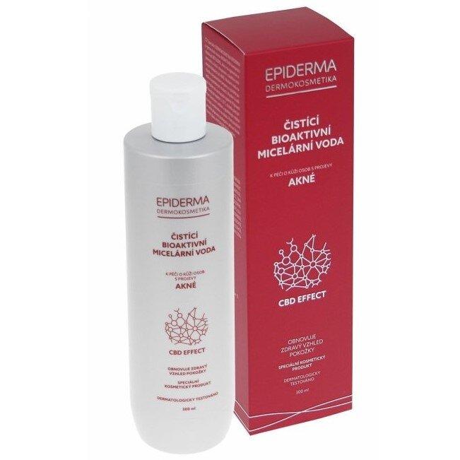 300 ml Bioaktívna CBD micelárna voda na akné Epiderma