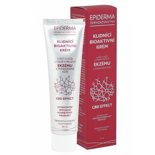 50 ml Bioaktívny CBD krém na ekzém Epiderma