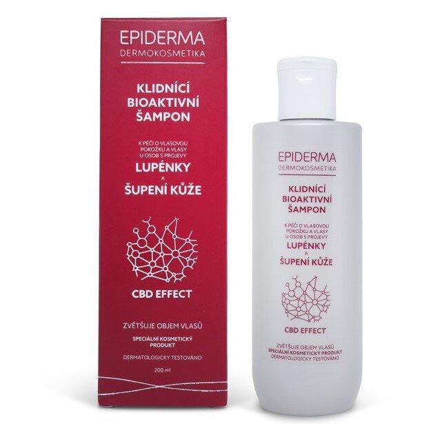 200 ml Bioaktívna CBD šampón na lupienku Epiderma
