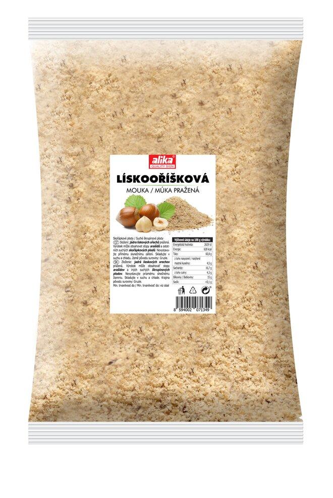 500 g Múka z lieskových orechov (pražených)
