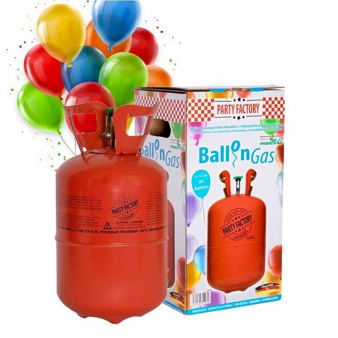 Hélium 250 l + 30 balónikov