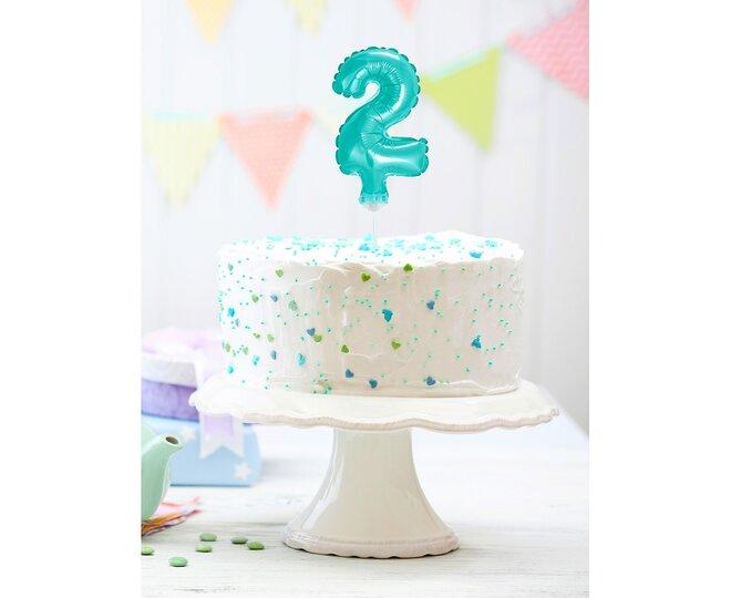 Balón na tortu číslo 2 - Veľkosť 13 cm