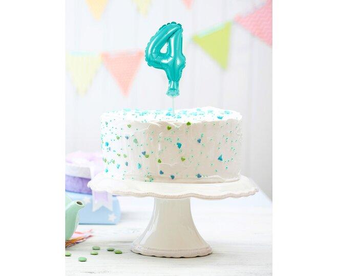 Balón na tortu číslo 4 - Veľkosť 13 cm