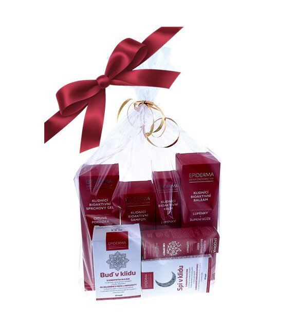 Darčekový balíček produktov proti lupienke