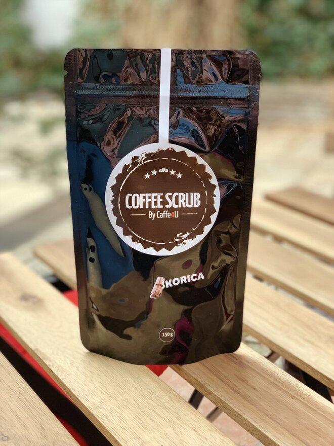 250 g Kávový peeling so škoricou