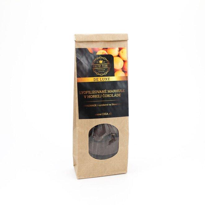 Mrazom sušené marhule v horkej čokoláde 50 g