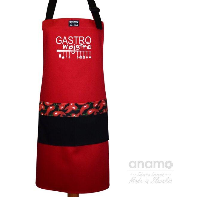 """Pánska zástera """"Gastro Majstro"""""""