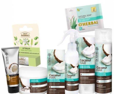 8-dielna Darčeková taška Dr. Santé / Coconut