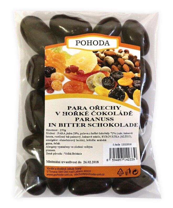 250 g Para orechy v horkej čokoláde