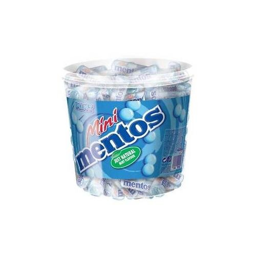 1,26 kg balenie Mini Mentos mentolové (120 ks)