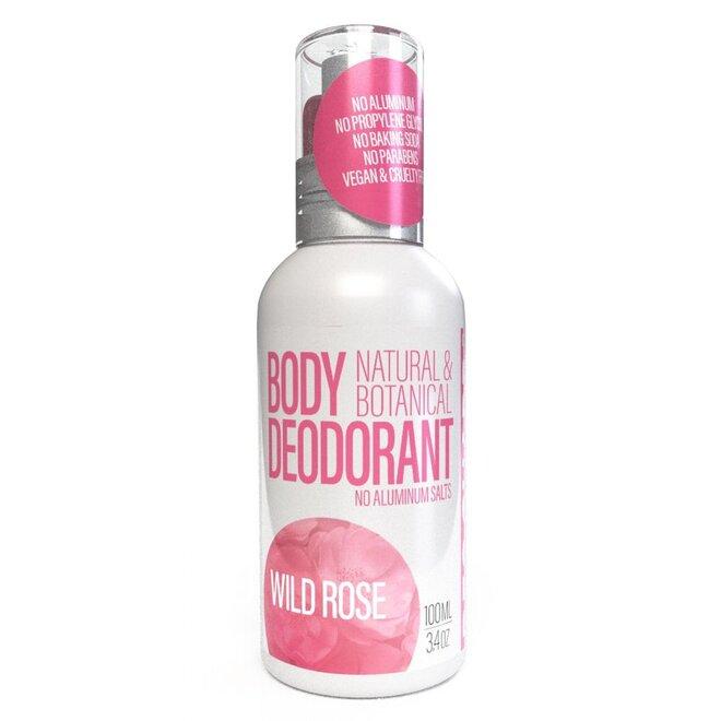 100 ml Prírodný dezodorant v spreji (divá ruža)