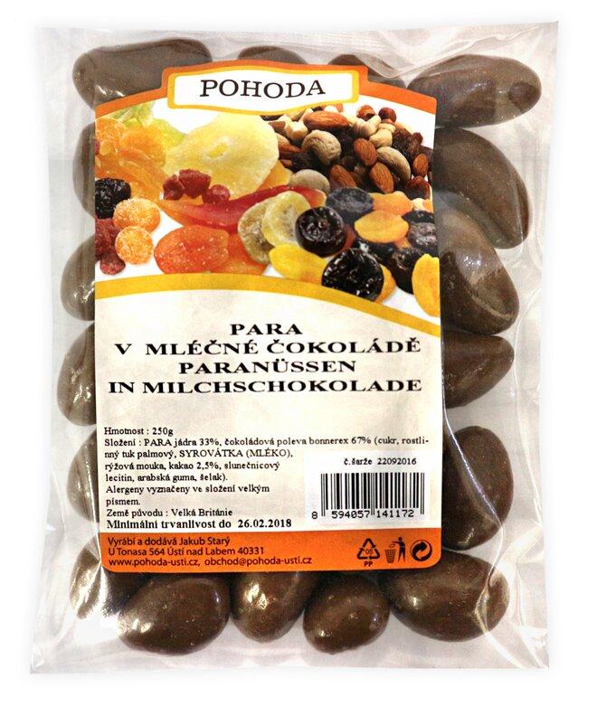 250 g Para orechy v mliečnej čokoláde