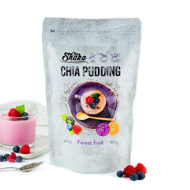 300 g Chia puding (10 jedál / príchuť LESNÉ PLODY)