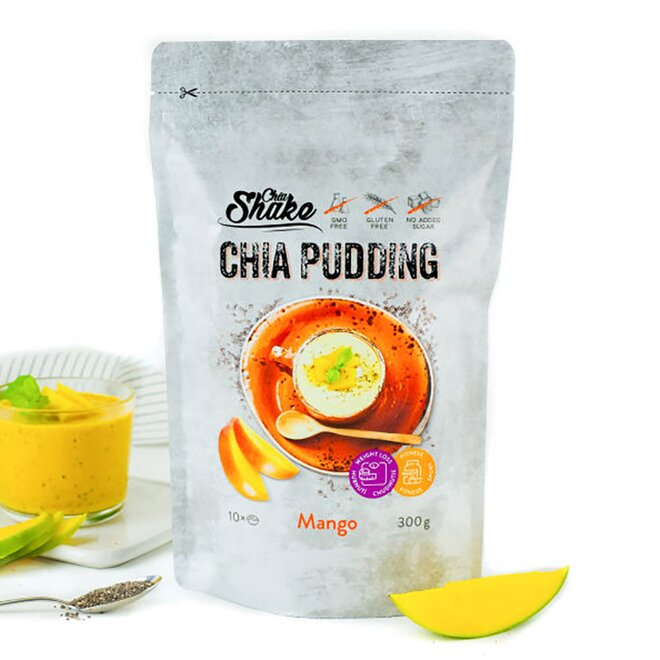 300 g Chia puding (10 jedál / príchuť MANGO)
