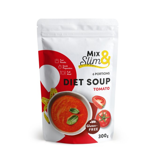 300 g Diétna polievka Mix & Slim - rajčinová (6 porcií)