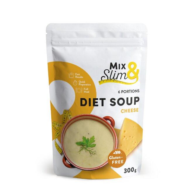 300 g Diétna polievka Mix & Slim - syrová (6 porcií)