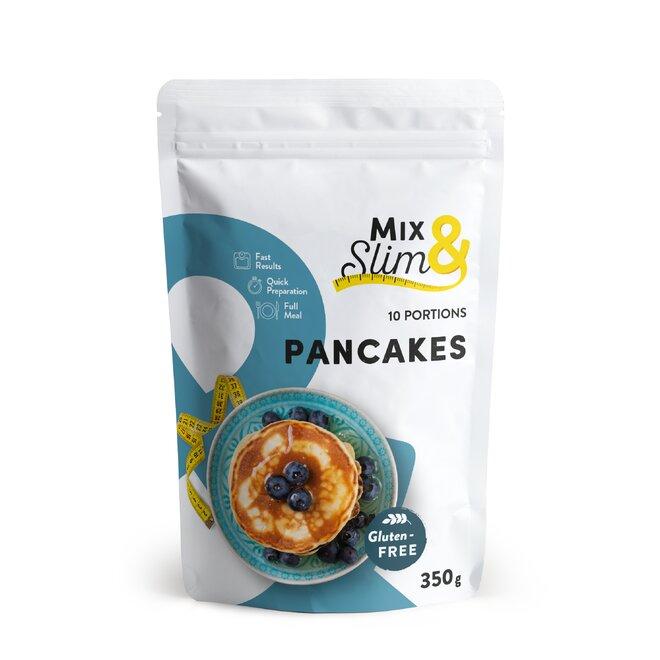 350 g Proteínové diétne palacinky Mix & Slim (10 porcií)