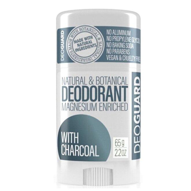 65 g Tuhý prírodný dezodorant s magnéziom (aktívne uhlie)