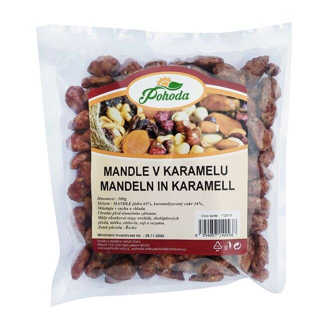 300 g Mandle v karameli