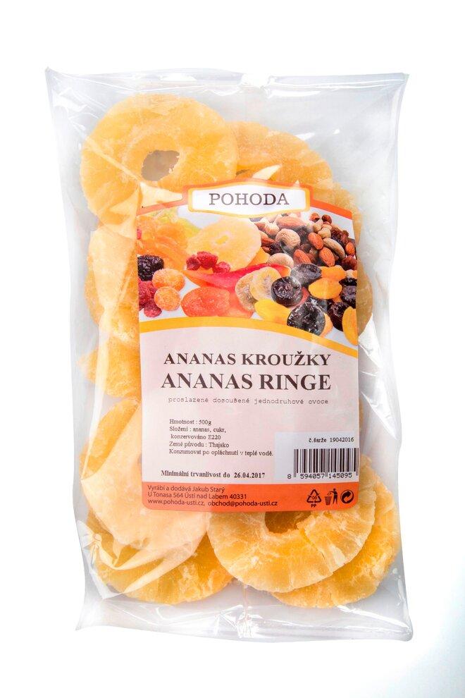 500 g Ananás krúžky