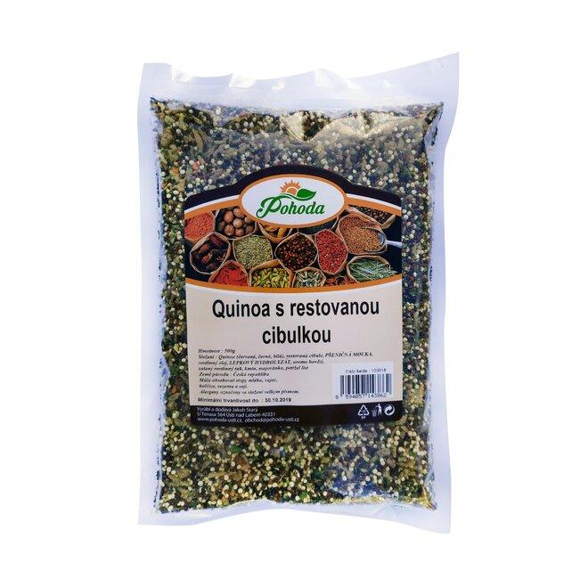 500 g Quinoa (s restovanou cibuľkou)