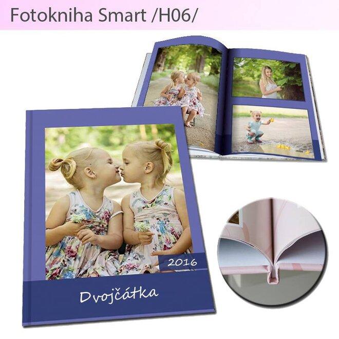 Fotokniha vo formáte A5 Smart H06 (80 strán)