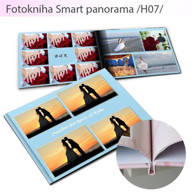 Fotokniha vo formáte A5 Smart H07 (80 strán)