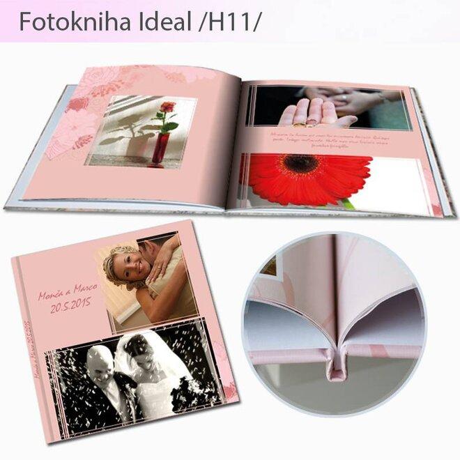 Fotokniha vo formáte 20 x 20 cm Ideal H11 (80 strán)