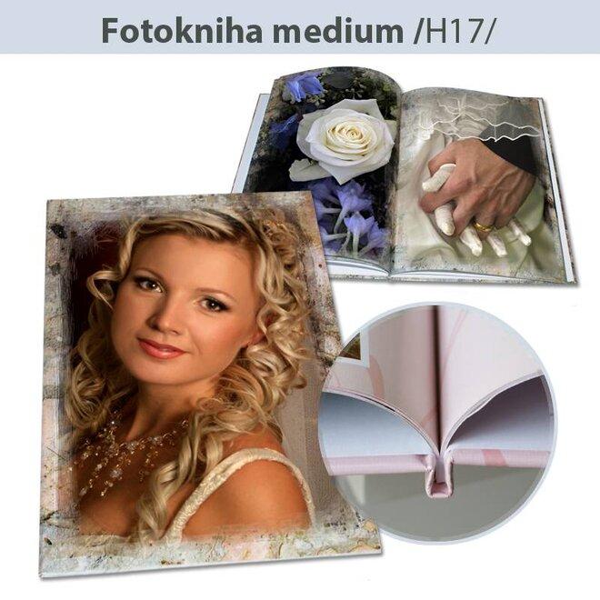 Fotokniha H17 – formát A4, pevná knižná väzba (44 strán)