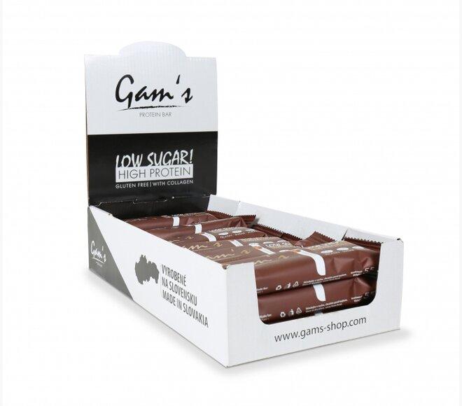 20 x 55 g Proteínová tyčinka Gam´s Protein Bar (karamel)