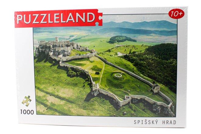Puzzle so slovenským motívom (Spišský hrad)