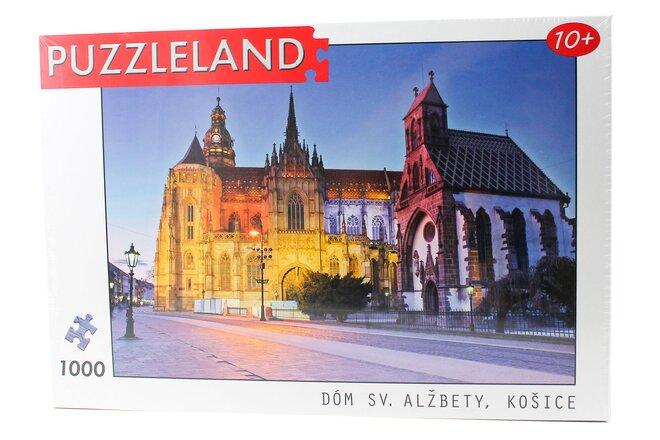 Puzzle so slovenským motívom (Dóm sv. Alžbety)