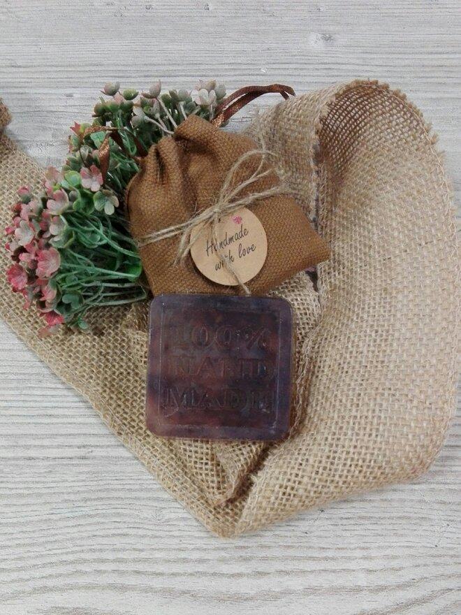 50 g Ručne vyrábané mydlo (levanduľa)