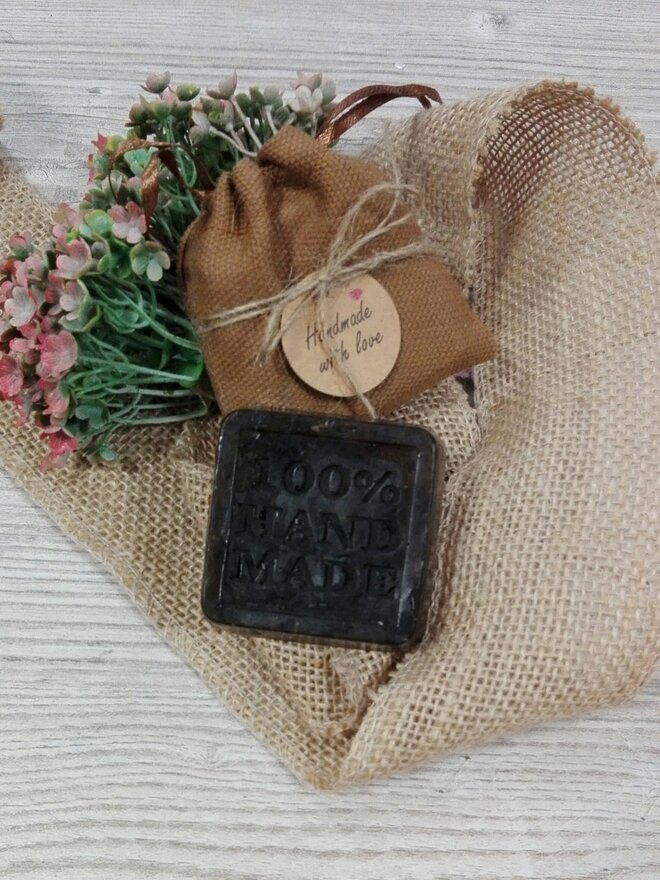 50 g Ručne vyrábané mydlo (mäta)
