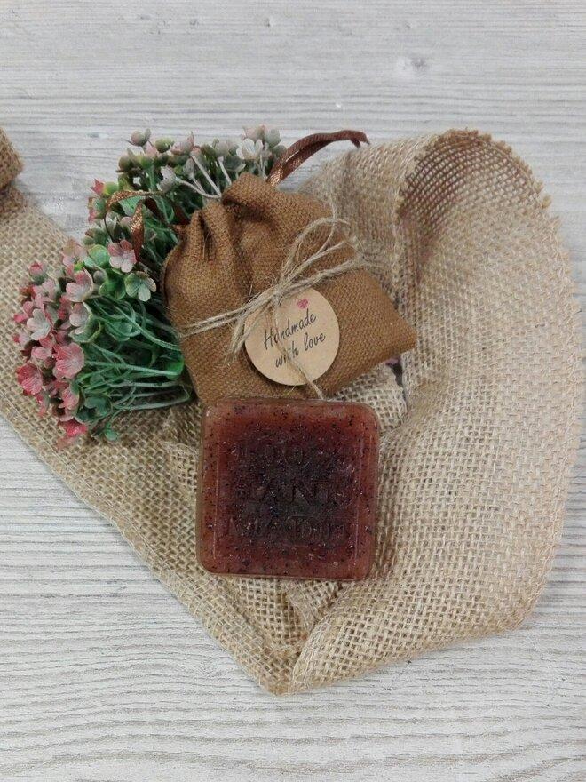 50 g Ručne vyrábané mydlo (káva)