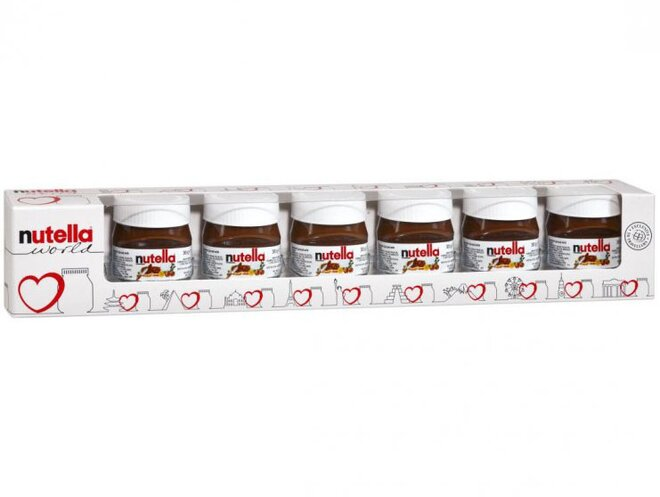 210 g Nutella 7 mini balení