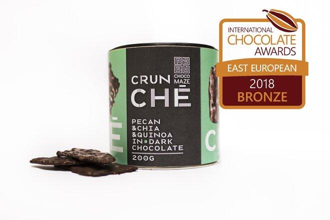 200 g Chrumkavý krokant CRUNCHÉ (pekanové orechy / chia / quinoa / kokos)