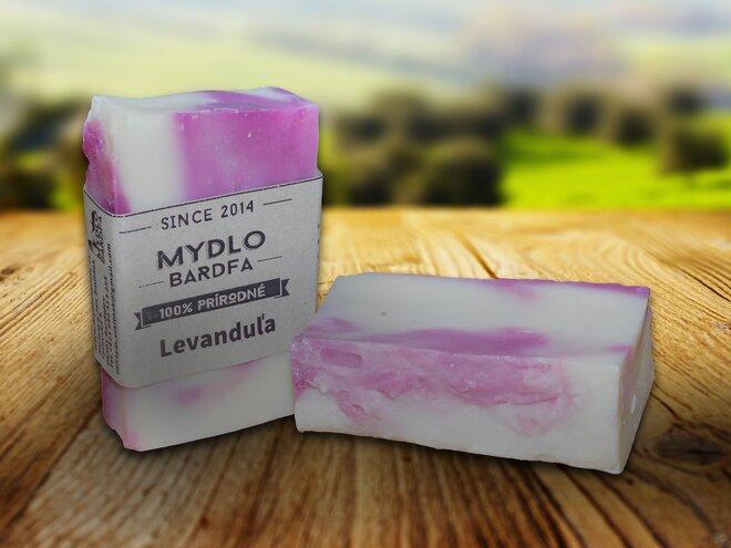90 g Prírodné mydlo (levanduľa)
