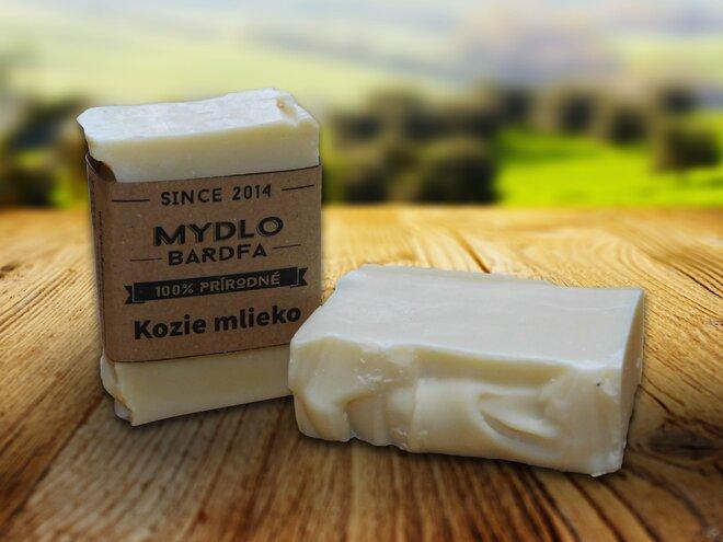 90 g Prírodné mydlo (kozie mlieko)