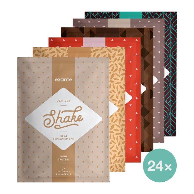 24 x 51 g Shake Exante (keto balíček na 8 dní)