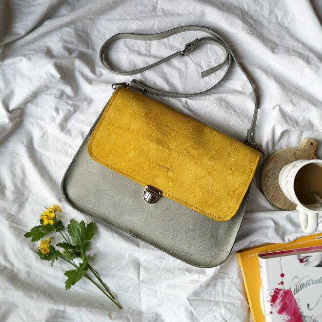 Dámska kožená kabelka VANESSA