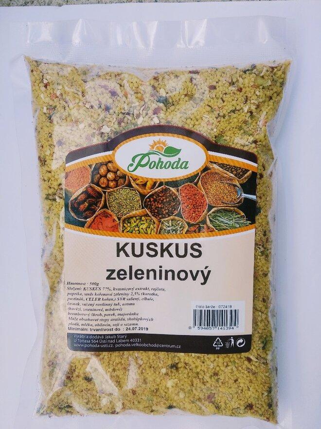 500 g Kuskus (zeleninový)