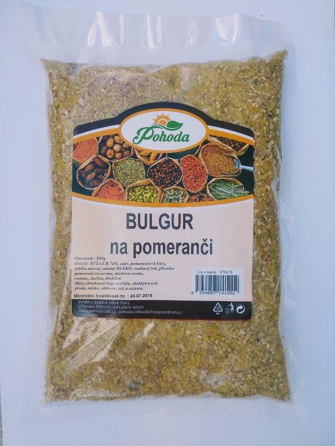 500 g Bulgur (na pomaranči)
