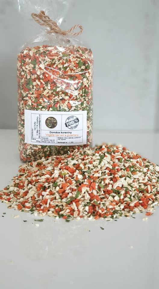 250 g Domáca vegeta bez soli / jemná