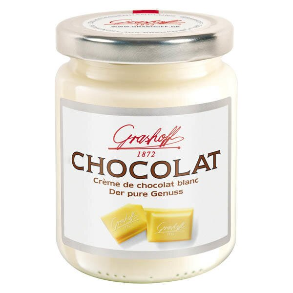 """250 g Čokoládový krém z bielej čokolády (""""Čisté potešenie"""")"""