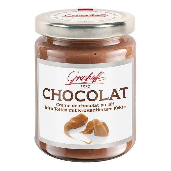 250 g Mliečny čokoládový krém (irský karamel+kakaové chrumky)