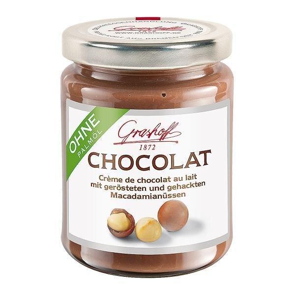 250 g Mliečny čokoládový krém (pražené makadamiové oriešky)