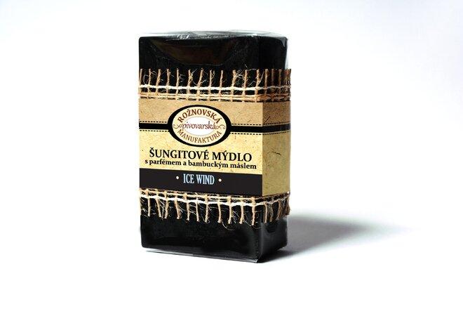 110 g Šungitové mydlo s bambuckým maslom (Ice Wind)