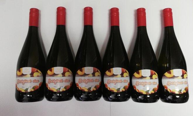 6 x 0,75 l Kartón ovocných vín ( broskyňa )