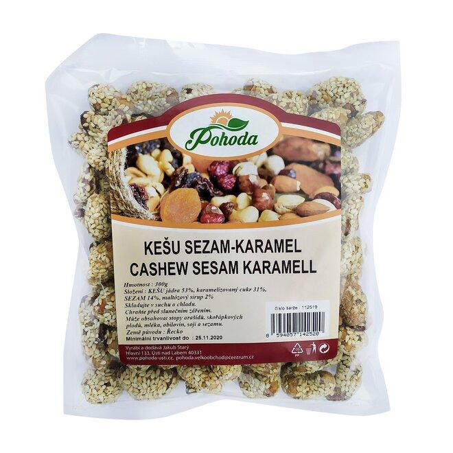 300 g Kešu - sezam a karamel